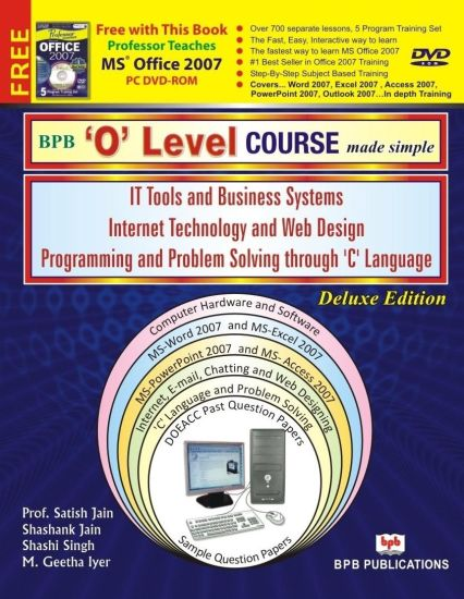 BPB's O Level Made Simple Computer Course (with DVD-ROM)