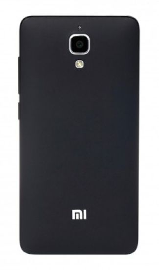 cheaper 8f735 a094a Mi Back Cover for Mi 4 Black - Mi : Flipkart.com