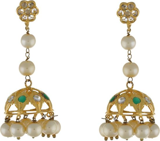 4fc9febae47a9 Flipkart.com - Buy Chaahat Fashion Jewellery Flower Designed Pearl ...