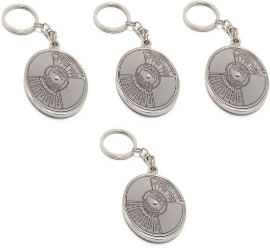 Ncc Ncc361 Set Of 4 Date Perpetual With Calendar Up To 50 Years Key