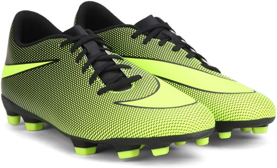 9d373739f6cfb Nike BRAVATA II FG Football Shoes - Buy BLACK VOLT NOIR VOLT Color Nike  BRAVATA II FG Football Shoes Online at Best Price - Shop Online for  Footwears in ...
