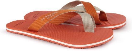 9d0f37f6a78d8 U.S. Polo Assn Jackson Slippers - Buy Orange Color U.S. Polo Assn ...
