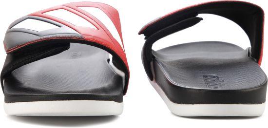 320ec582fd6 ADIDAS ADILETTE CF ULTRA ADJ Slides - Buy CBLACK FTWWHT SCARLE Color ...