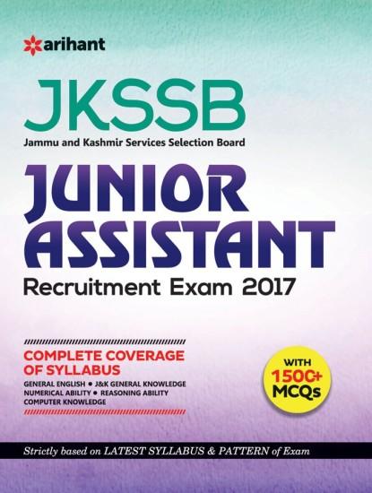 JKSSB Junior Assistant Recruitment Exam