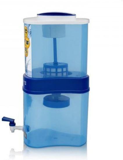 Eureka Forbes Aquasure Xtra Tuff 15 L Gravity Based Water Purifier (White, Blue)