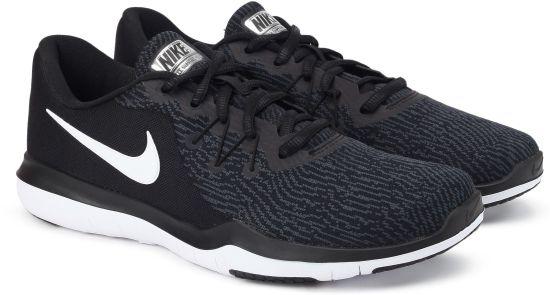 7e9415fd9 Nike WMNS NIKE FLEX SUPREME TR 6 Training   Gym Shoes For Women (Black)