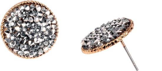 876c5f769 Flipkart.com - Buy Ayesha Fashion ayesha silver diamante studded round stud  earrings Crystal Crystal Stud Earring Online at Best Prices in India