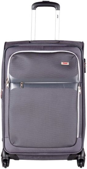 d7558357ae17 VIP STSQUWH65CGY Expandable Check-in Luggage - 25 inch Grey - Price ...