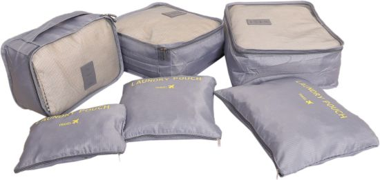 129eb0bc01e6 kuber industries 6 Pieces Travelling Mesh Laundry Pouch/Cloth Organizer  Storage Bag -CTKTC1467