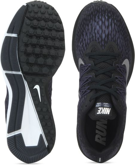 84eee0e0bcd5a Nike AIR ZOOM WINFLO 5 Running Shoes For Men(Black)
