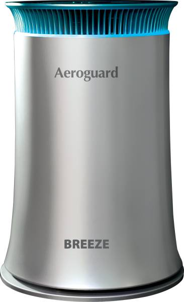 Aeroguard Breeze Room Air Purifier (Black & Silver)