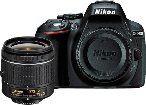 Image of Nikon D5300 DSLR camera