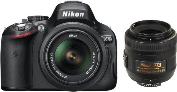 buy nikon d5100 dslr camera 16 2mp black online at lowest price