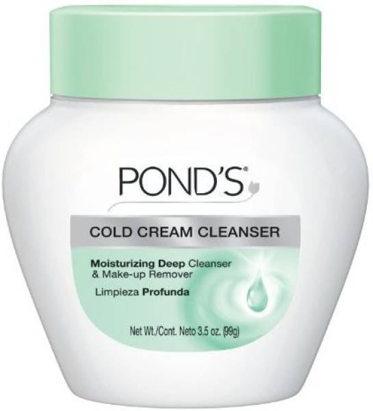 Ponds Cold Cream Moisturizing Deep Cleanser And Make-Up Remover (99GM)