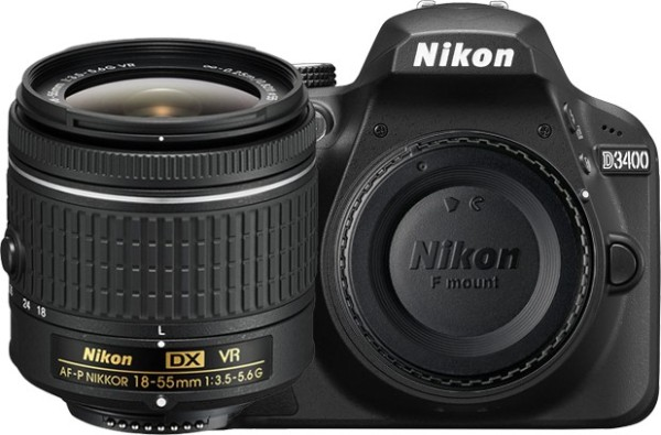 nikon d3400 is one of the best camera under 40000