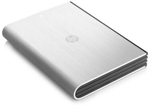 HP 1TB External Hard Disk (Grey)