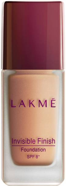 Lakme Invisible Finish SPF 8 Foundation (25ML)