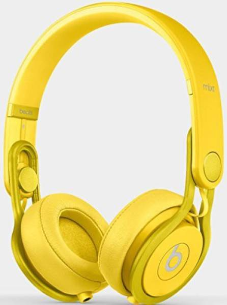 8bed0f5ea85 Buy Beats Mixr Wired Headphone (Yellow) Online at Lowest Price in India