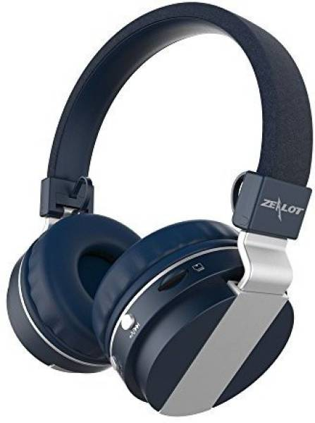 a38e79ffb60 Buy Zealot Wired Bluetooth Headset (Blue) Online at Lowest Price in ...