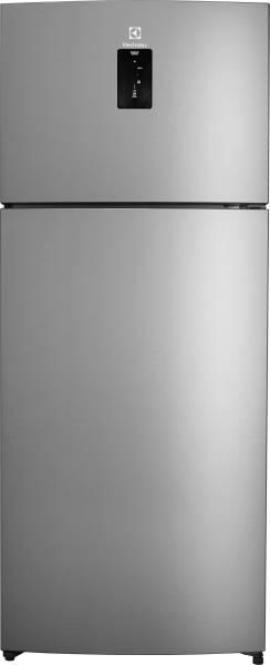 Electrolux 470 L Frost Free Double Door 2 Star Refrigerator (ETB4702AA, Arctic Steel)