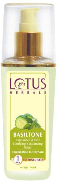 Lotus Herbals Basiltone Clarifying And Balancing Toner (100ML)