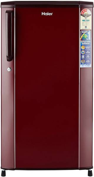 Haier 170 L Direct Cool Single Door 3 Star Refrigerator (HRD1703SRRE, Burgundy Red)