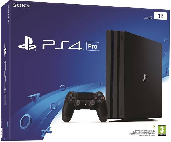 Sony Playstation 4 Pro (Black)