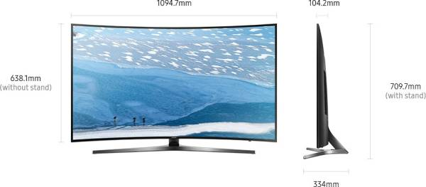 Samsung 49 Inches Ultra HD (4K) LED Curved TV (49KU6570, Black)