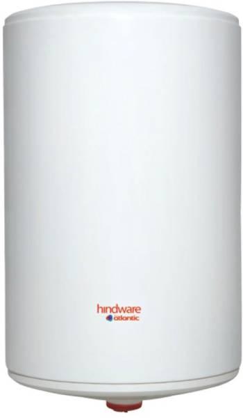 Hindware 15L Storage Water Geyser (Metal Series Vertical, Metallic Silver)