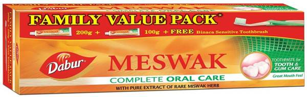 Dabur Meswak Complete Oral Care Toothpaste (300GM)