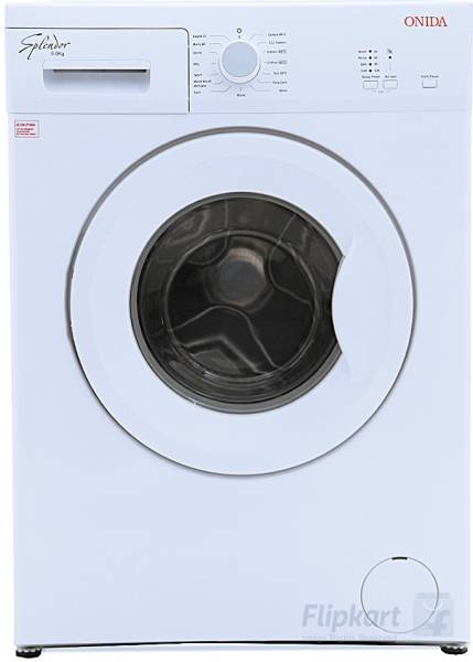 Onida 6 kg Fully Automatic Front Load Washing Machine (W60FSP1WH, White)