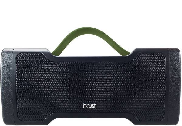 boAt Stone 1000 Wireless Portable Bluetooth Speaker (Black, Stereo Channel)