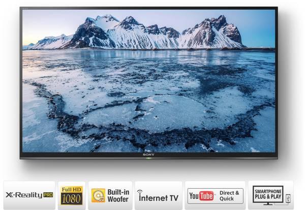 Sony 49 Inches Full HD LCD Smart TV (KLV-49W672E, Black)