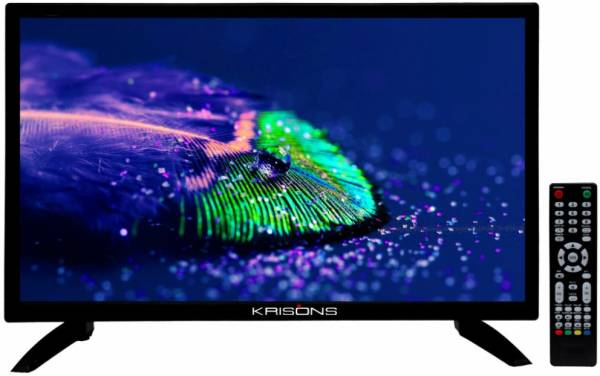 Krisons 24 Inches HD LED TV (KR24LTV, Black)