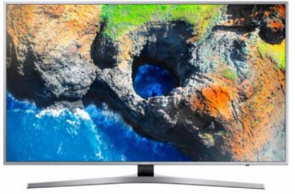 f813374dd415 Buy Samsung 65 Inches Ultra HD (4K) LED Smart TV (65MU6470, Silver ...