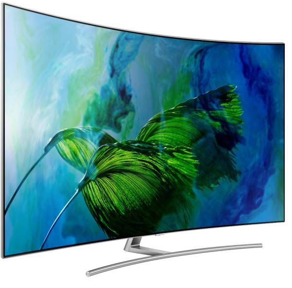 Samsung 65 Inches Ultra HD (4K) QLED Curved TV (65Q8C, Black)