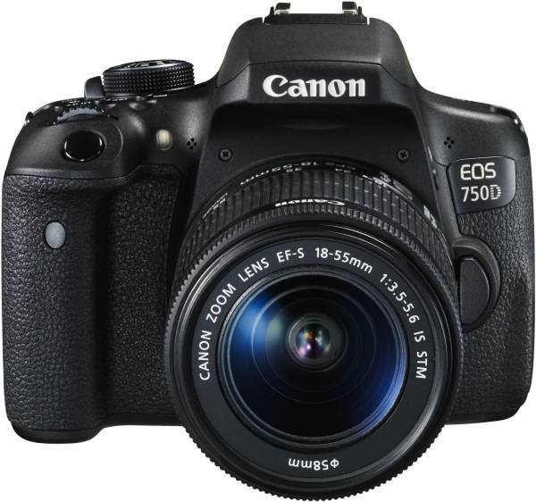 Canon EOS 750D best DSLR camera under 50000