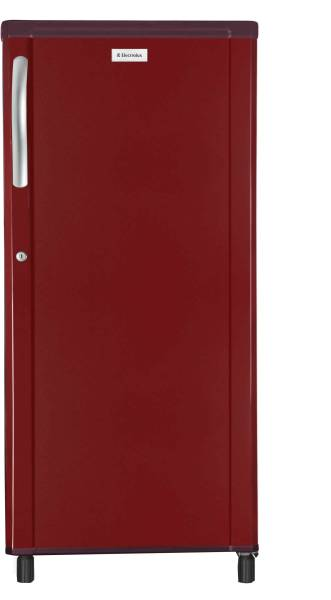 Electrolux 190 L Direct Cool Single Door 3 Star Refrigerator (EB203EBR, Burgundy Red)