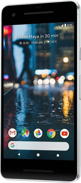 Google Pixel 2 (Clearly White, 4GB RAM, 128GB)