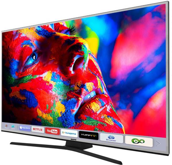 Sanyo 55 Inches Ultra HD (4K) LED Smart TV (XT-55S8200U, Metallic)