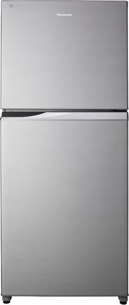 Panasonic 407 L Frost Free Double Door 3 Star Refrigerator (NRBD418VSX1, Shining Silver)