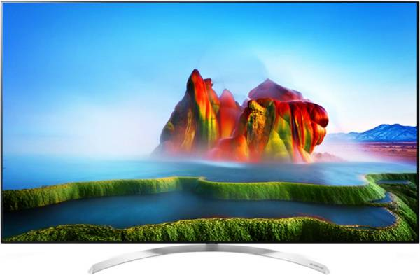 LG 65 Inches Ultra HD (4K) LED Smart TV (65SJ850T, Silver)