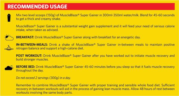 MuscleBlaze Super Gainer XXL (Chocolate, 1KG)