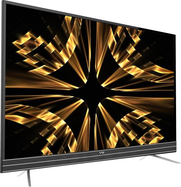 Vu 43 Inches Ultra HD (4K) LED Smart TV (43SU128, Black)