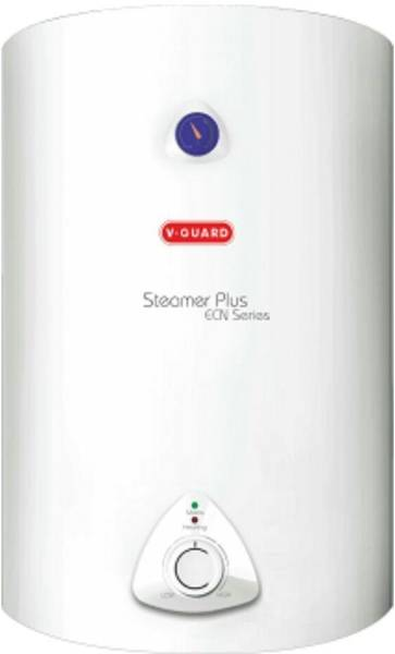 V-Guard 25L Storage Water Geyser (Steamer Plus, White & Red)