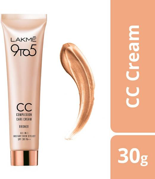 Buy Lakme 9 To 5 CC Complexion Care Face Cream (Bronze