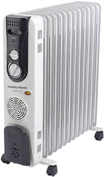 Morphy Richards OFR 13F Oil Filled Room Heater (White)