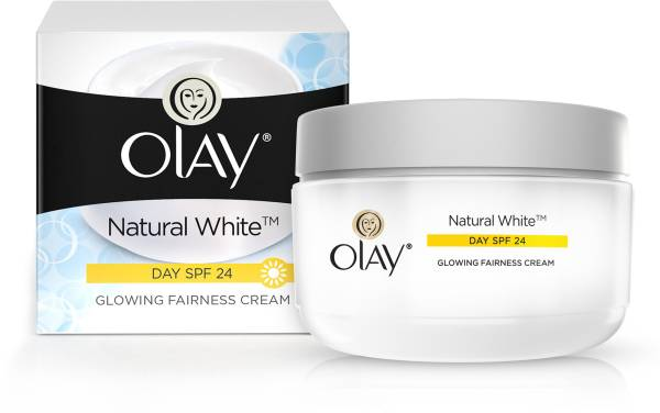 Olay Natural White Glowing Fairness Cream Day SPF24