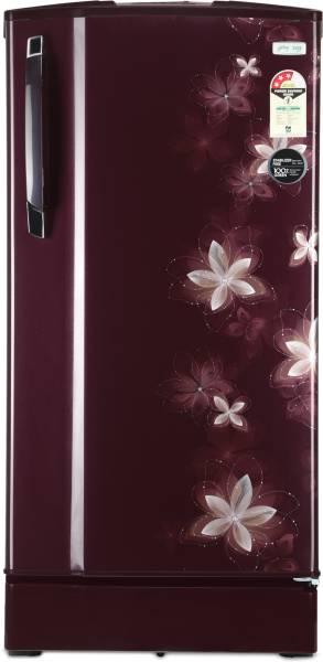 Godrej 185 L Direct Cool Single Door 3 Star Refrigerator (RD 1853 PM 3.2, Galaxy Wine)
