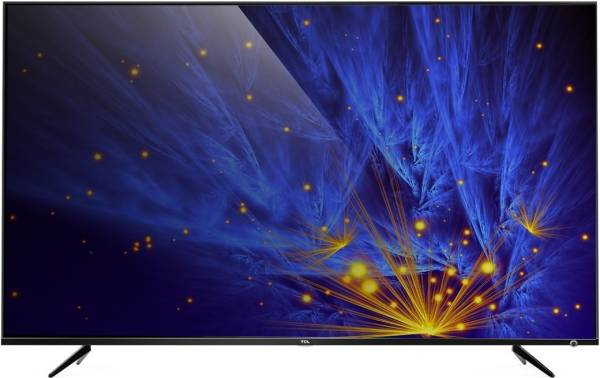 TCL 43 Inches Ultra HD (4K) LED Smart TV (43P6US, Black)